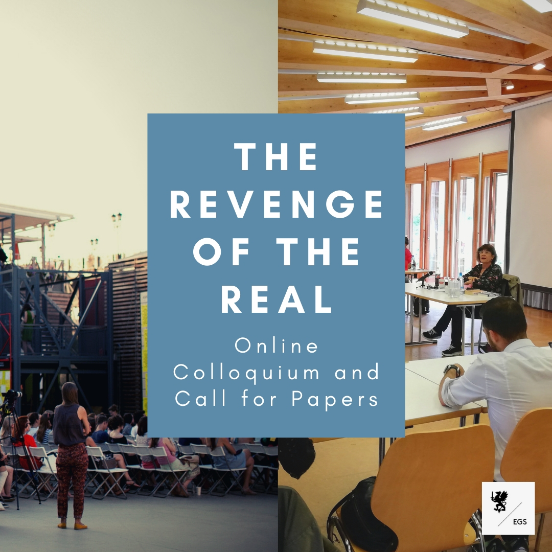 """""""The Revenge of the Real"""": Online Colloquium and Call for Papers"""