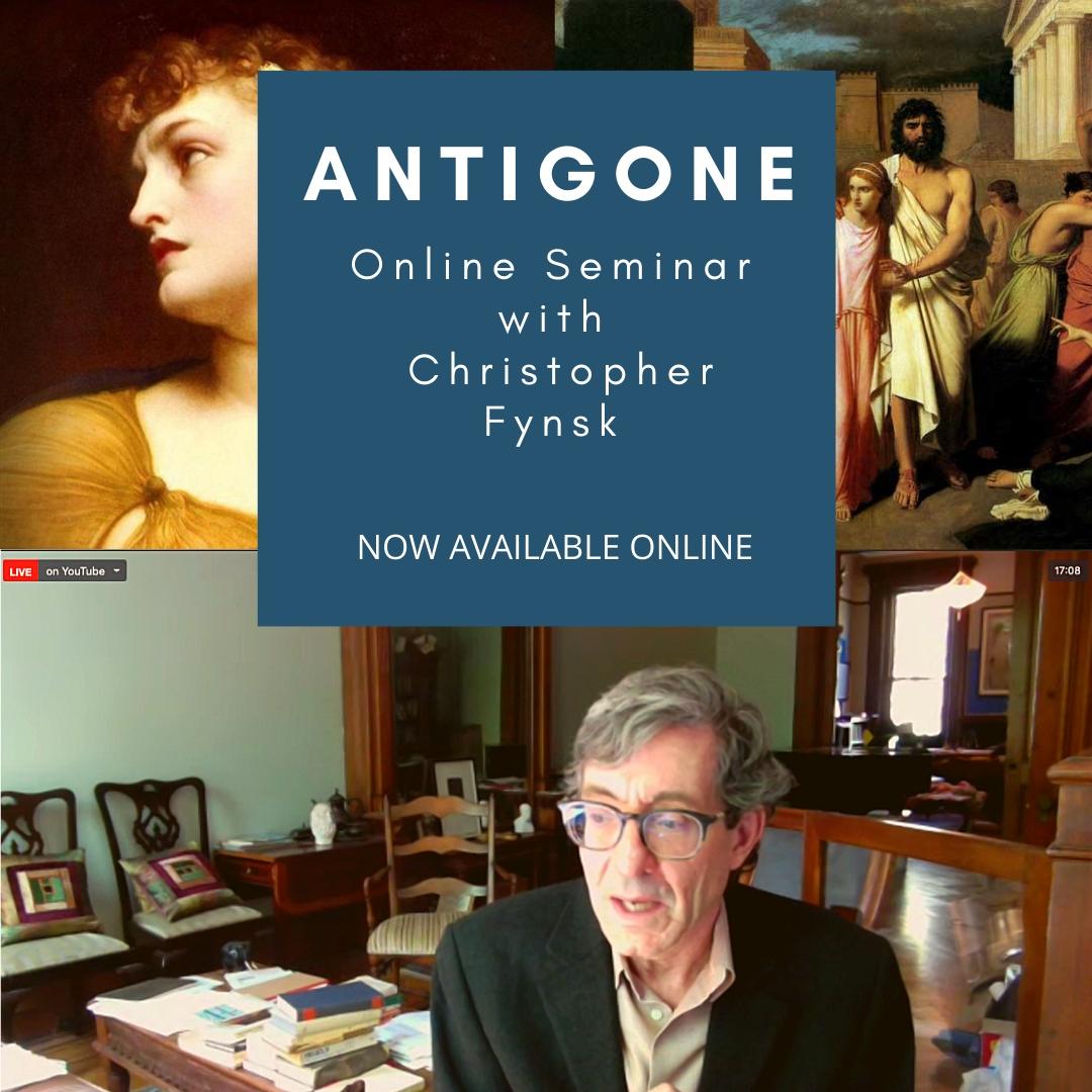 """Professor Fynsk's """"Antigone"""" Webinar Now Available"""
