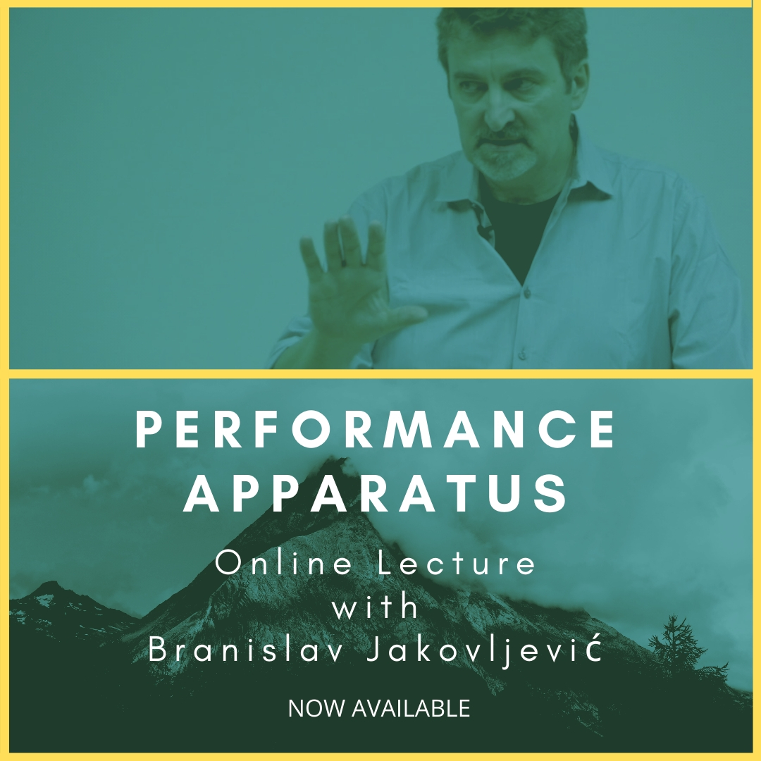 "Branislav Jakovljević's ""Performance Apparatus"""