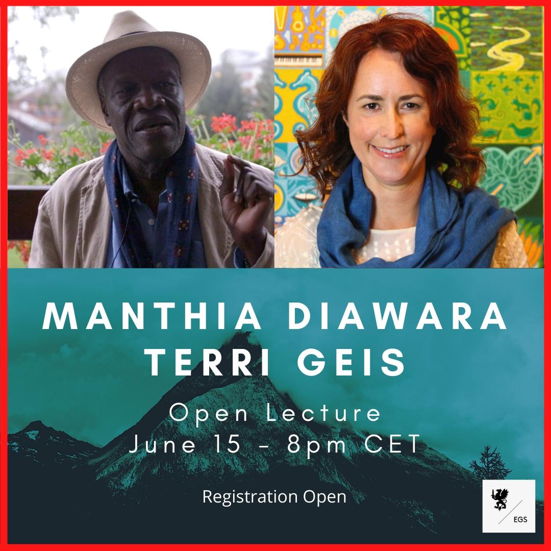 EGS Open Lecture: Mathia Diawara & Terri Geis