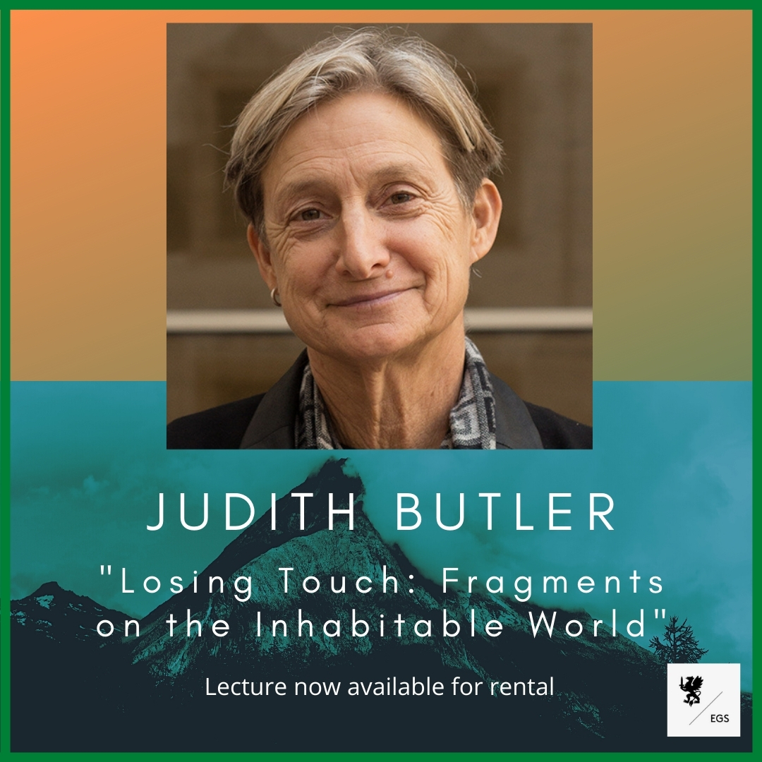 Judith Butler's Lecture Now Available for Streaming