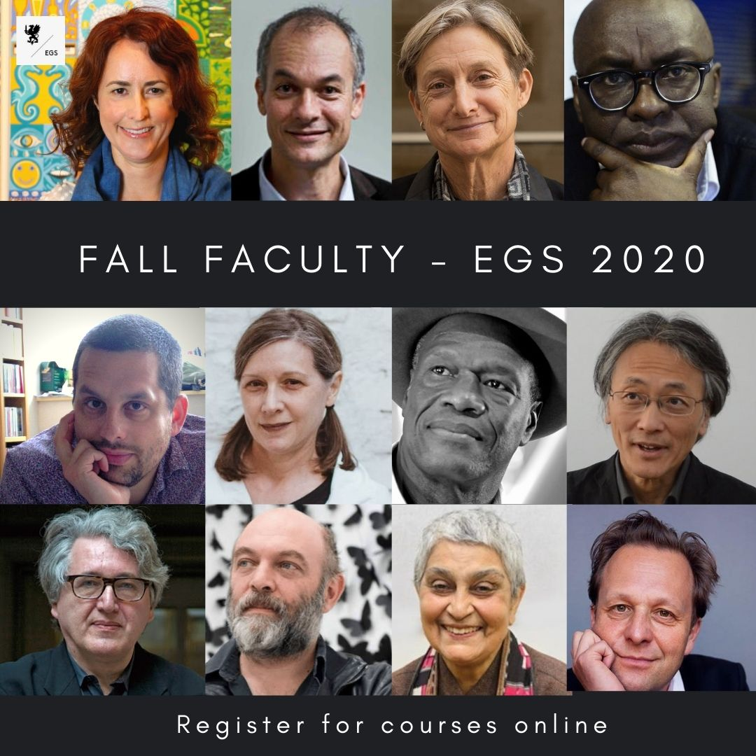 Fall Schedule – EGS 2020