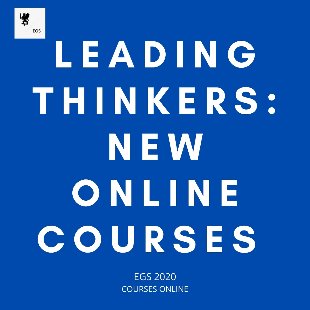Leading Thinkers: New Online Courses