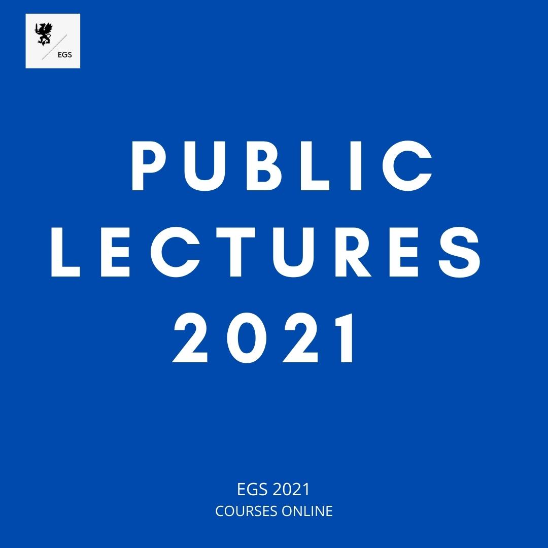 Public Lectures 2021
