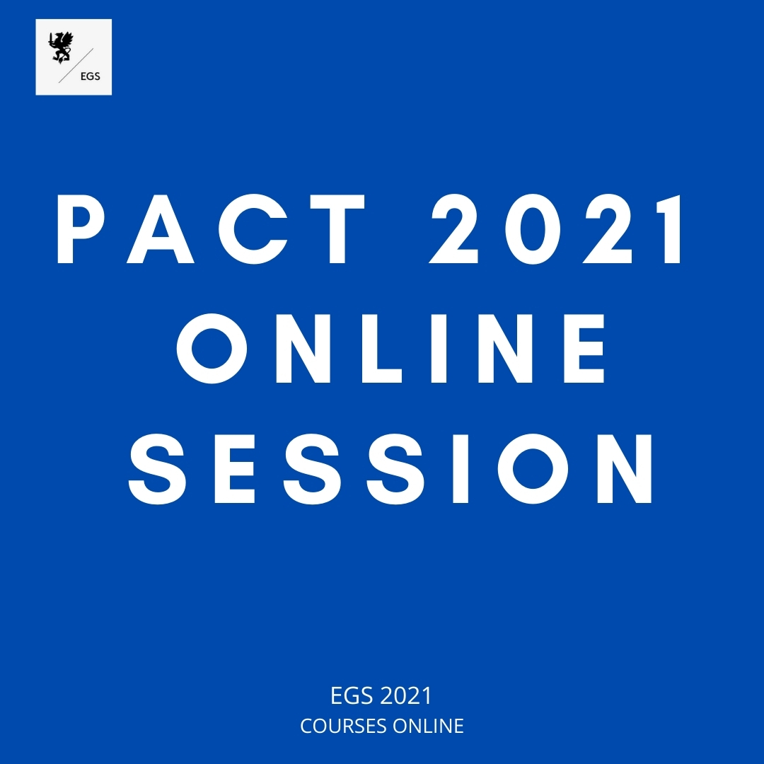 PACT 2021 Online Session