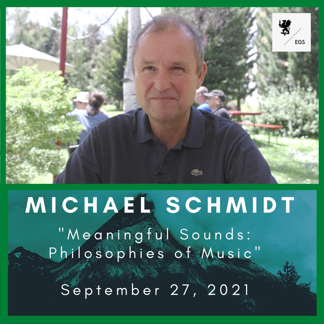 """Michael Schmidt's New Workshop: """"Meaningful Sounds: Philosophies of Music"""""""